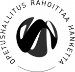 Opetushallitus rahoittaa hanketta (logo)